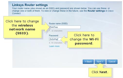 Linksys E4200 Router Name Password