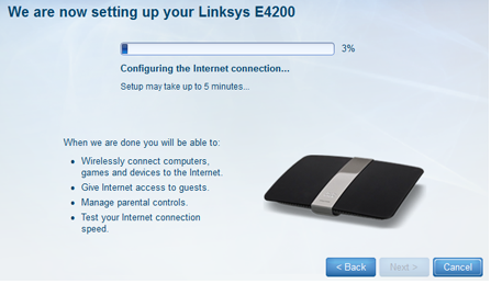 Setting Up Linksys E4200 Router