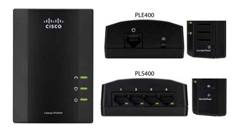 Linksys PLEK400/PLSK400 Powerline Network Adapter Feature