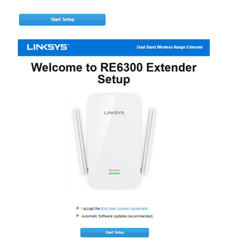 re6300 extender setup